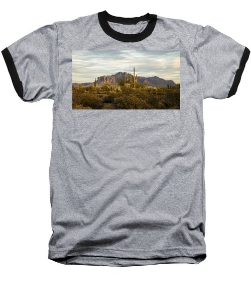 The Superstition Mountains Baseball T-Shirt