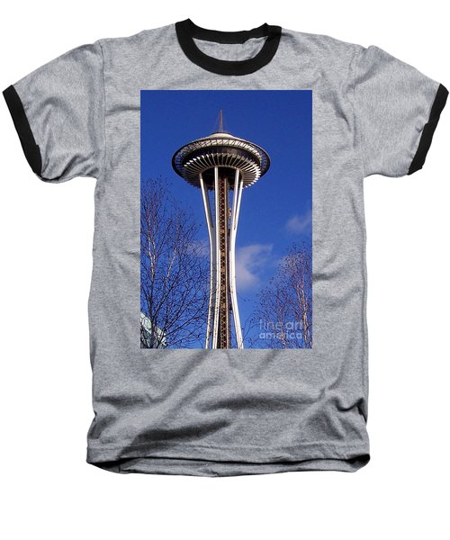 Baseball T-Shirt featuring the photograph The Symbol Of Seattle by Kathy  White