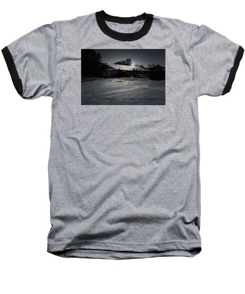Tcm  #7 - Slaughterhouse Baseball T-Shirt by Trish Mistric