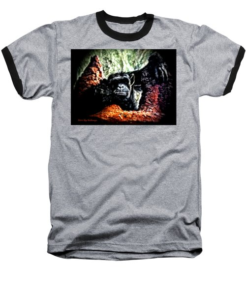 The Thinker Baseball T-Shirt