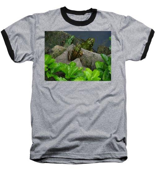 Baseball T-Shirt featuring the photograph The Three Amigos by Raymond Salani III