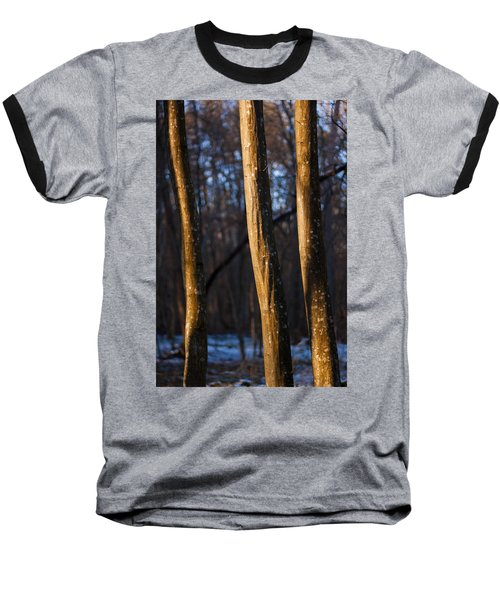 Baseball T-Shirt featuring the photograph The Three Graces by Davorin Mance