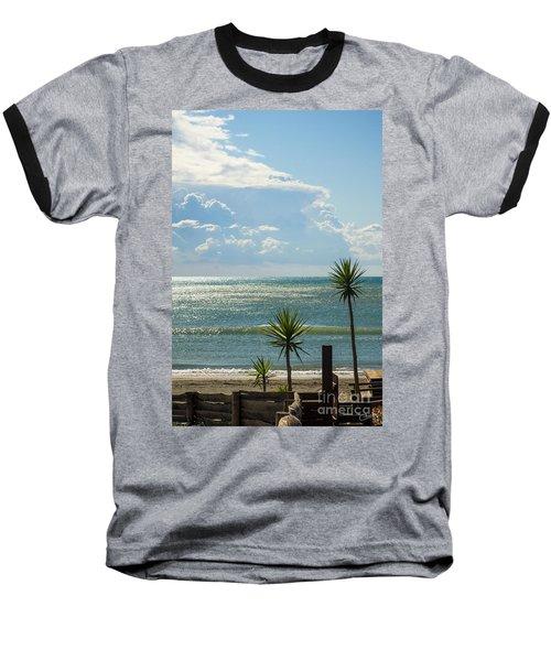 The Three Palms Baseball T-Shirt