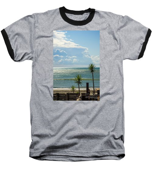 The Three Palms Baseball T-Shirt