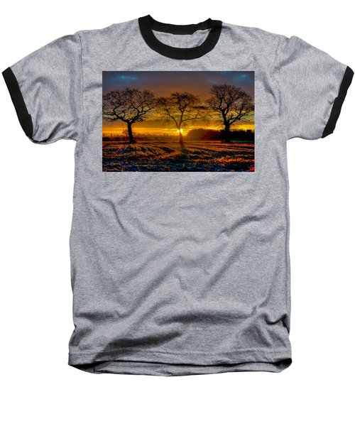 The Three Stooges Baseball T-Shirt