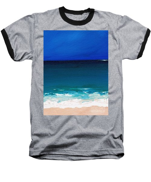 The Tide Coming In Baseball T-Shirt