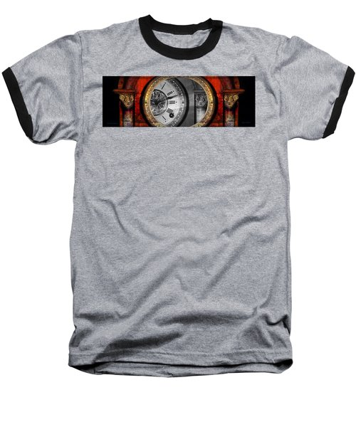 The Time Machine Baseball T-Shirt