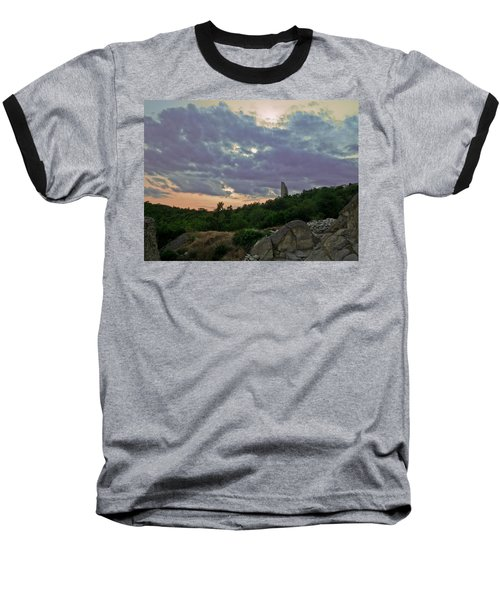 Baseball T-Shirt featuring the photograph The Tower by Eti Reid