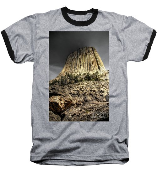 The Tower Of Boulders Baseball T-Shirt