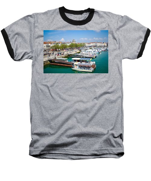 The Town And Port Of La Rochelle Baseball T-Shirt