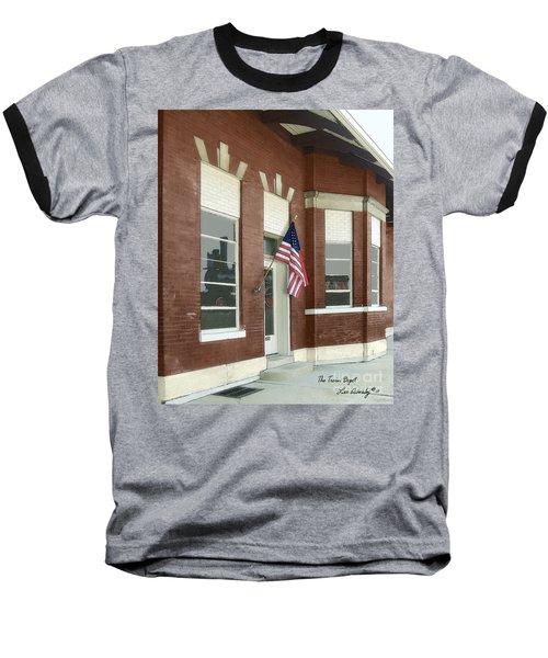 The Train Depot Baseball T-Shirt