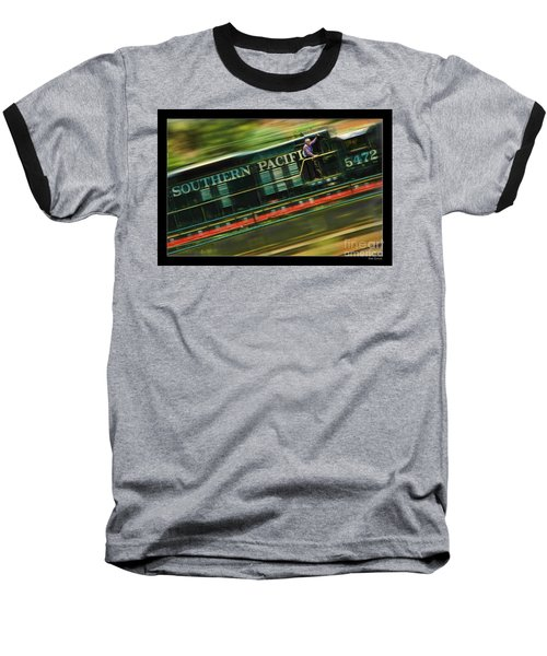 The Train Ride Baseball T-Shirt