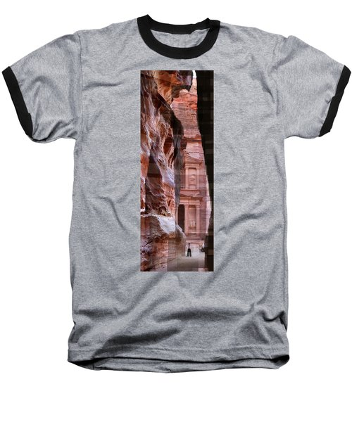 The Treasury Of Petra Jordan Baseball T-Shirt