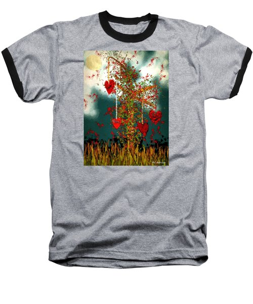 The Tree Of Hearts Baseball T-Shirt