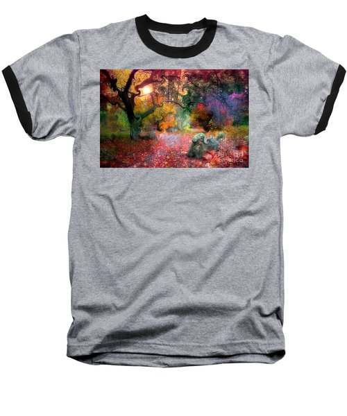 The Tree Where I Used To Live Baseball T-Shirt