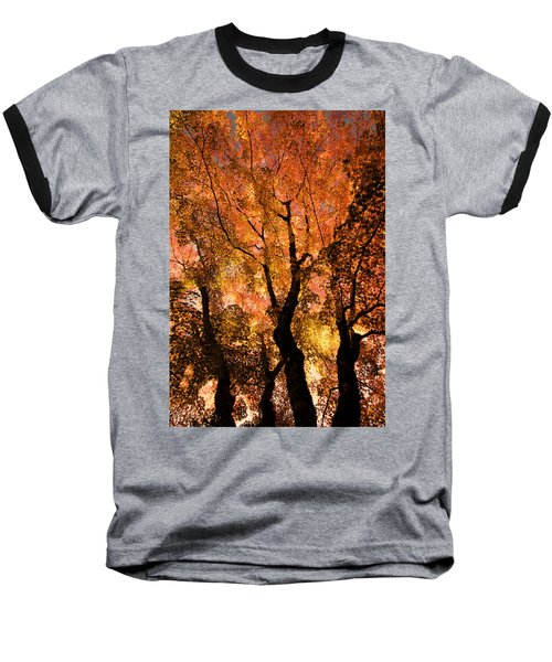 The Trees Dance As The Sun Smiles Baseball T-Shirt