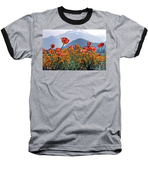 The Tulips In Bloom Baseball T-Shirt