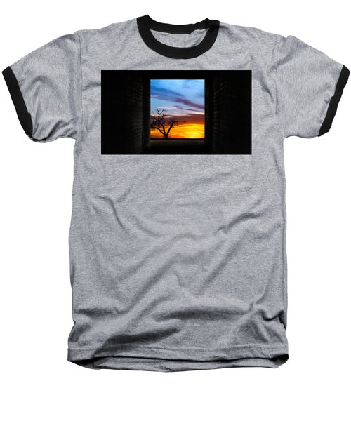 The Tunnel   Sunset1 Baseball T-Shirt