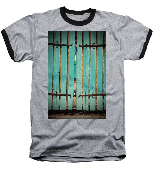 The Turquoise Gate Baseball T-Shirt