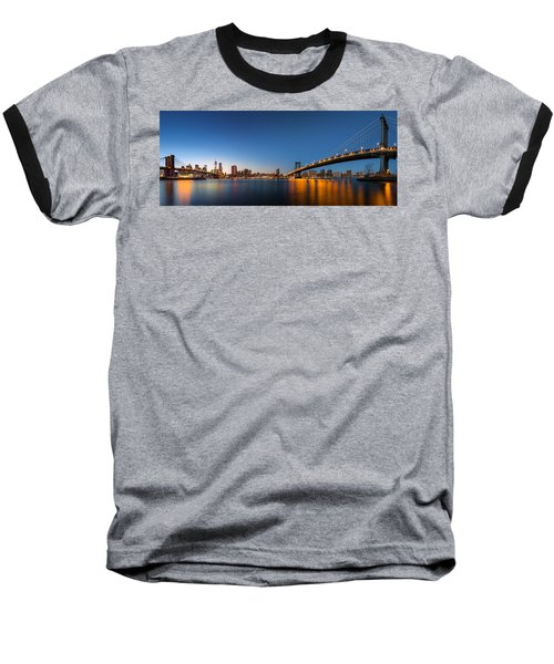 The Two Bridges Baseball T-Shirt