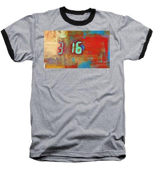 The Ultimate Sacrifice Baseball T-Shirt by Robert ONeil