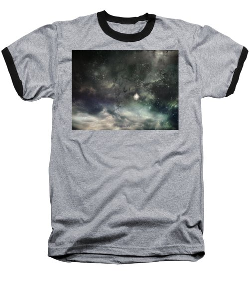Baseball T-Shirt featuring the photograph The Universe by Cynthia Lassiter