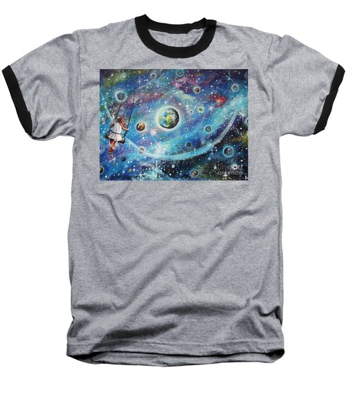 The Universe Is My Playground Baseball T-Shirt