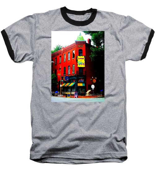 The Venice Cafe' Edited Baseball T-Shirt