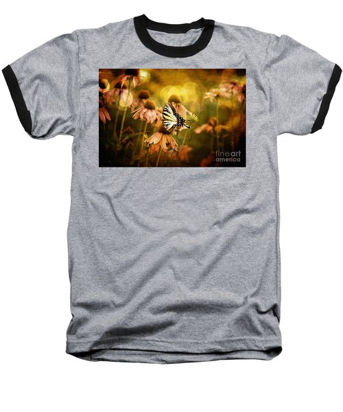 The Very Young At Heart Baseball T-Shirt by Lois Bryan