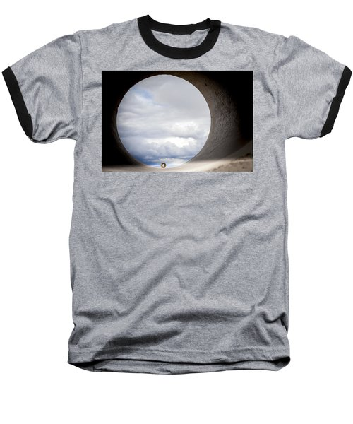 The View Above Baseball T-Shirt by Fran Riley