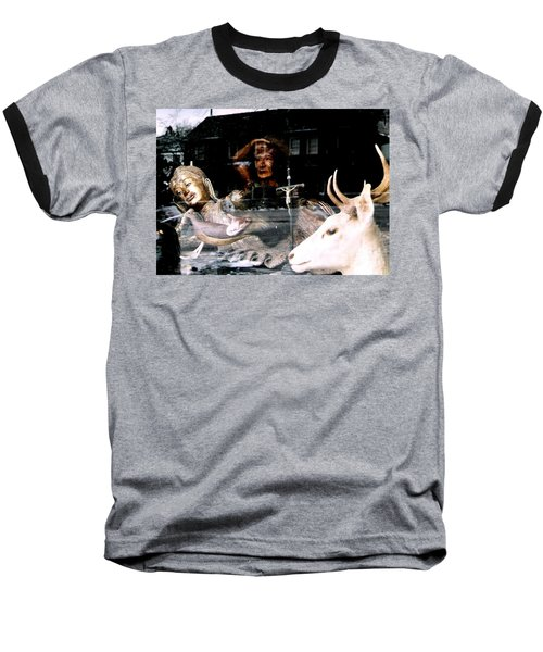 Baseball T-Shirt featuring the photograph A Surreal View by Michael Hoard