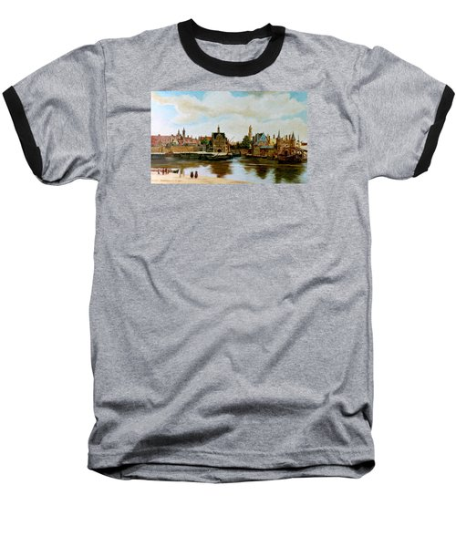 The View Of Delft Baseball T-Shirt by Henryk Gorecki