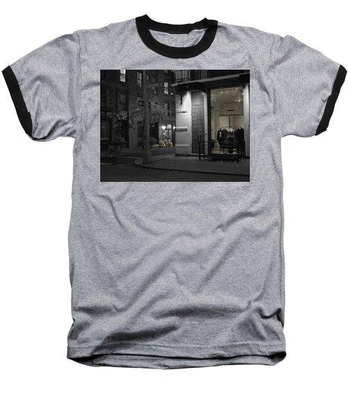 The Village Always New Baseball T-Shirt by Steve Archbold