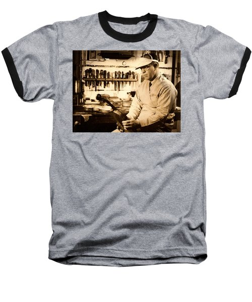 The Violin Maker Baseball T-Shirt