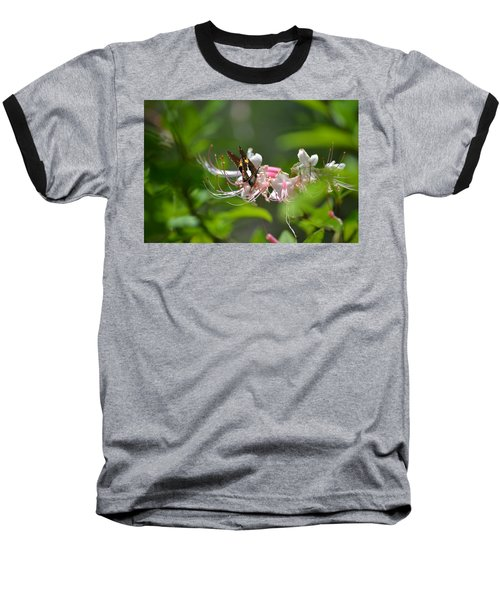 Baseball T-Shirt featuring the photograph The Visitor by Tara Potts