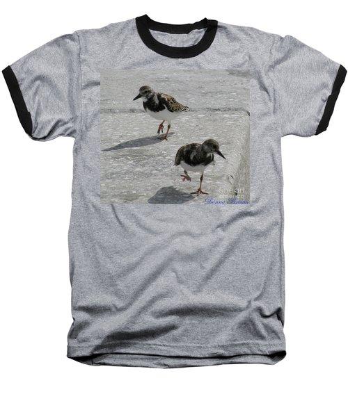 The Walk Baseball T-Shirt by Donna Brown