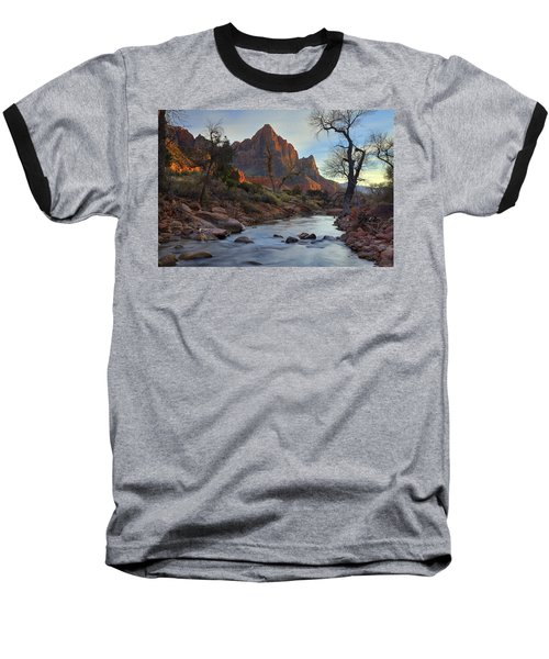 The Watchman In Winter-2 Baseball T-Shirt