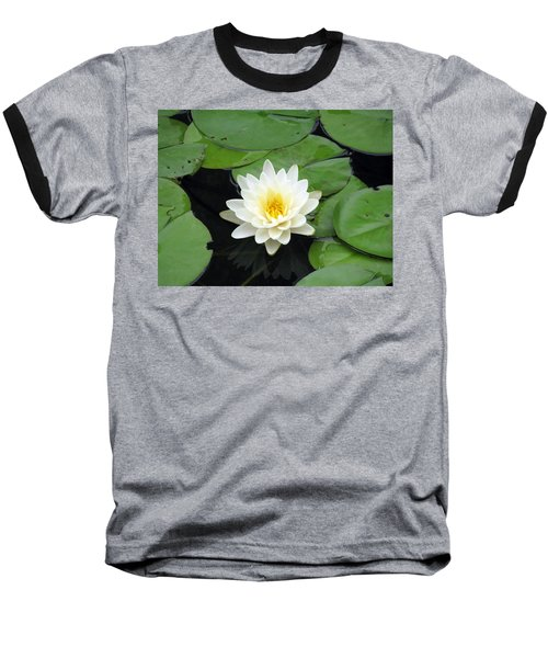 Baseball T-Shirt featuring the photograph The Water Lilies Collection - 01 by Pamela Critchlow
