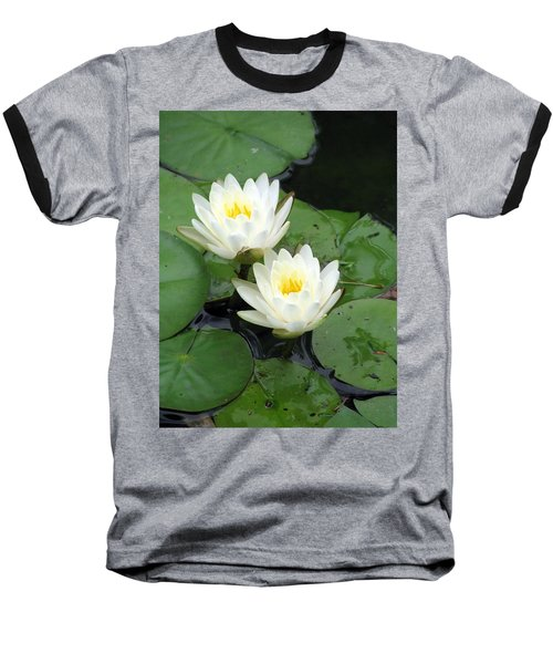 Baseball T-Shirt featuring the photograph The Water Lilies Collection - 07 by Pamela Critchlow