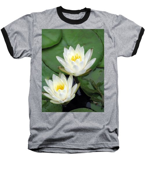 Baseball T-Shirt featuring the photograph The Water Lilies Collection - 12 by Pamela Critchlow
