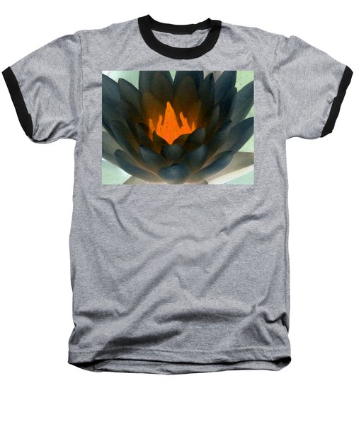 Baseball T-Shirt featuring the photograph The Water Lilies Collection - Photopower 1038 by Pamela Critchlow