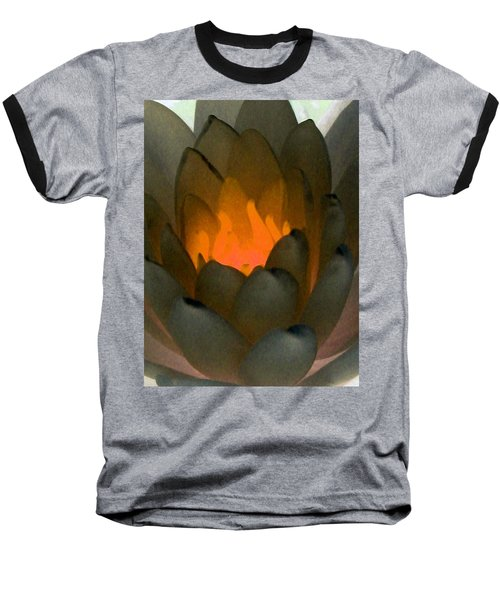 Baseball T-Shirt featuring the photograph The Water Lilies Collection - Photopower 1043 by Pamela Critchlow