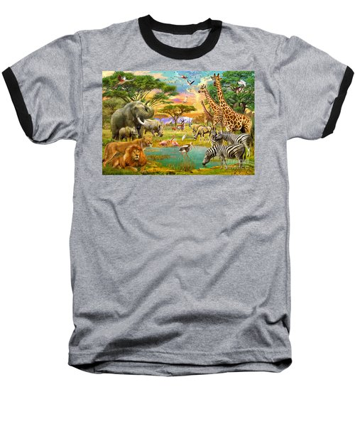 The Watering Hole Baseball T-Shirt