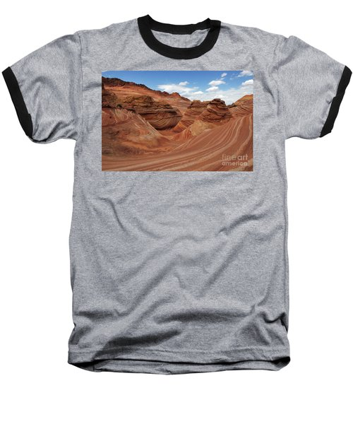 The Wave Center Of The Universe Baseball T-Shirt