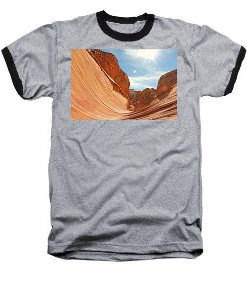 The Wave Rock #1 Baseball T-Shirt