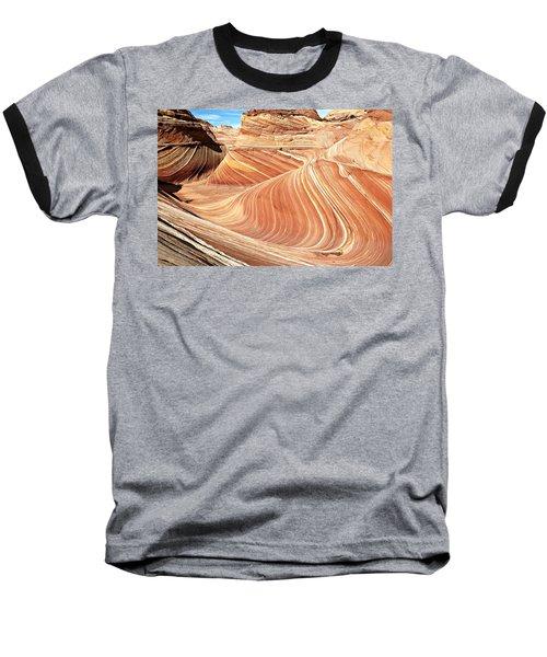 The Wave Rock #2 Baseball T-Shirt