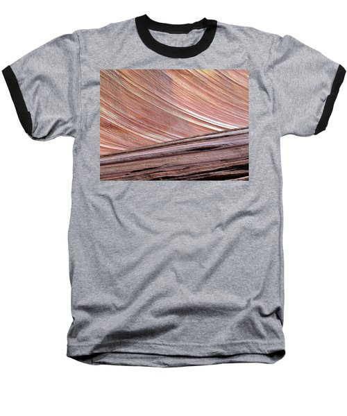 Baseball T-Shirt featuring the photograph 'the Wave' North Coyote Buttes 02 by Jeff Brunton