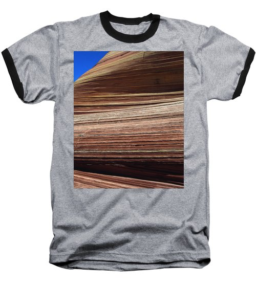 Baseball T-Shirt featuring the photograph 'the Wave' North Coyote Buttes 06 by Jeff Brunton