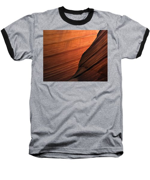 Baseball T-Shirt featuring the photograph 'the Wave' North Coyote Buttes 47 by Jeff Brunton