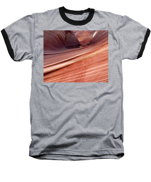 Baseball T-Shirt featuring the photograph 'the Wave' North Coyote Buttes 62 by Jeff Brunton